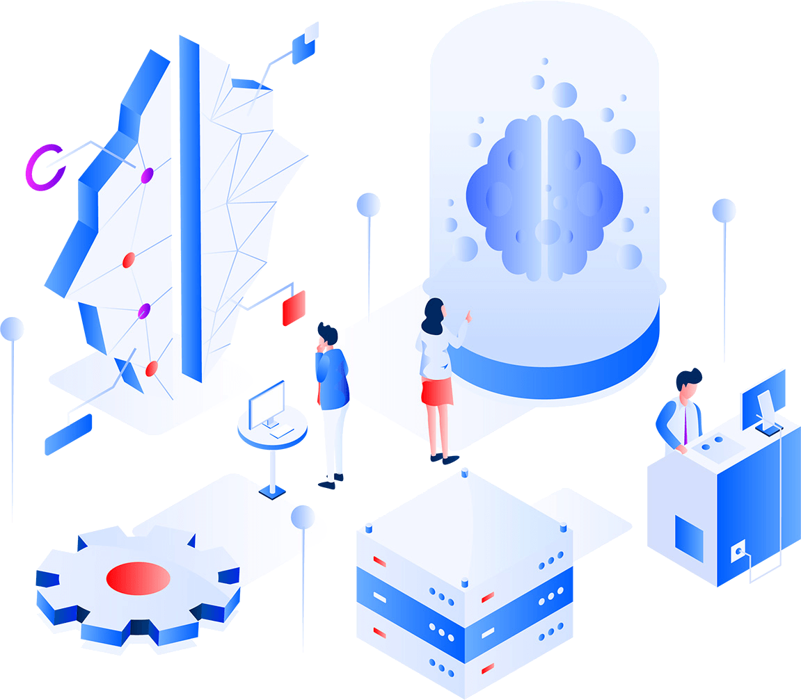 secure storage illustration